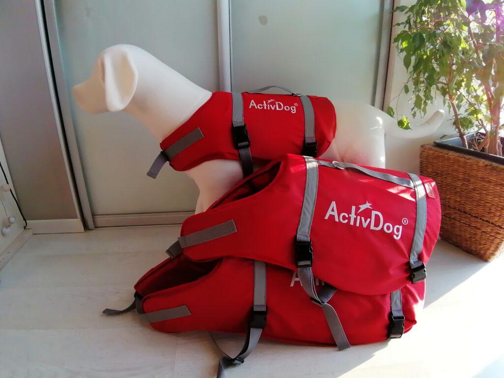 """Спасательный жилет для собак """"ActivDog"""", размер XL-XXL (для больших собак)"""