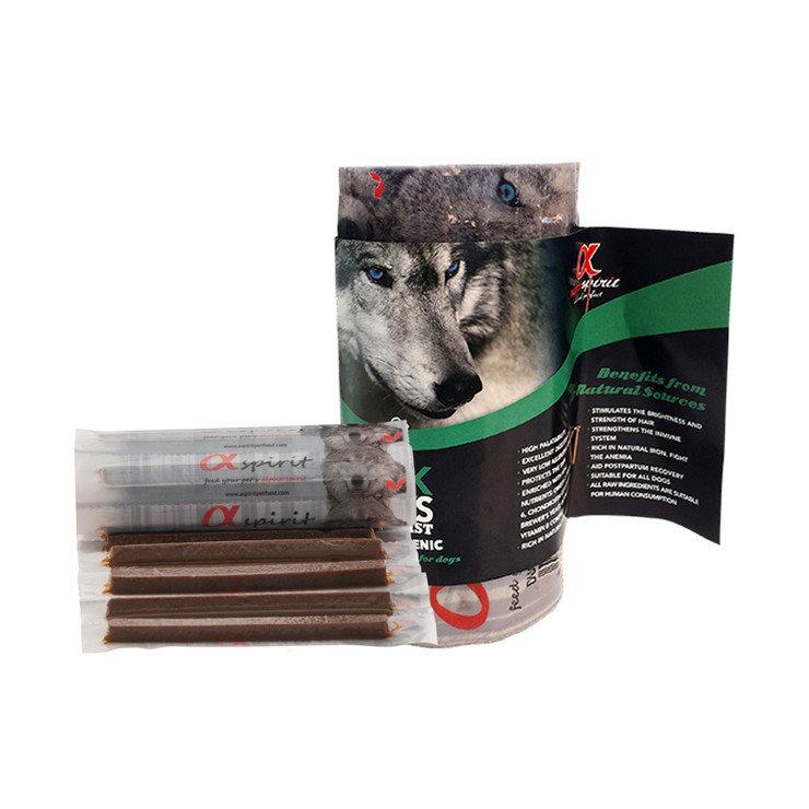 Напіввологі ласощі для собак ALPHA SPIRIT стік з качкою (x16 шт.) 160g