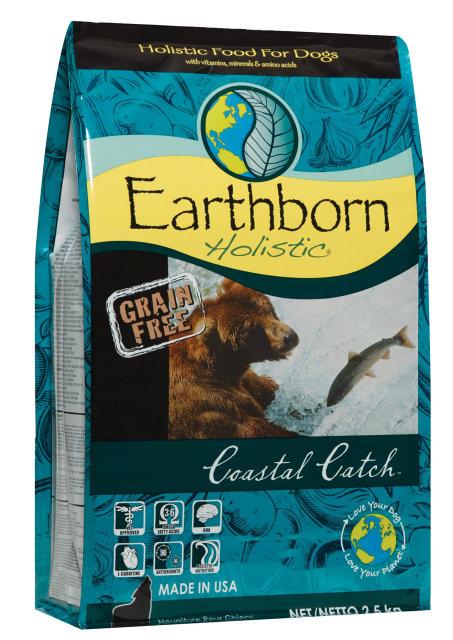 Сухий корм для собак Earthborn Holistic Coastal Catch 2.5 кг