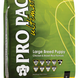 Сухий корм для цуценят великих порід Pro Pac DOG Large Breed Puppy Chicken & Brown Rice Formula 20 кг