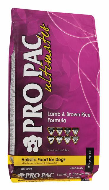 Сухий корм для собак Pro Pac DOG Lamb & Brown Rice Formula 12 кг