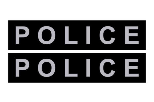 сменные надписи Police