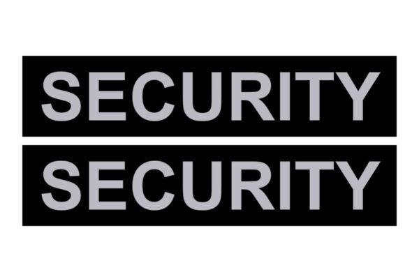 Сменные надписи Security