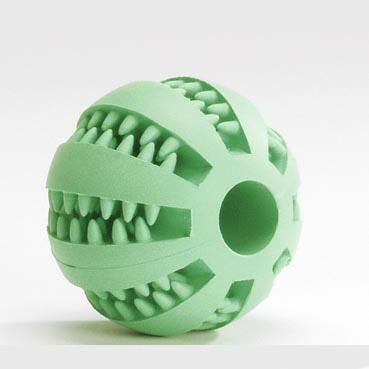 МАССАЖНЫЙ МЯЧ для зубов с ментолом игрушка для собак