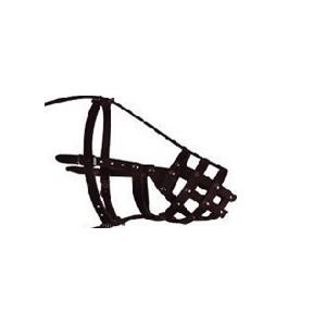 Намордник кожаный для собак открытый твердый (доберман , овчарка, сеттер) Collar