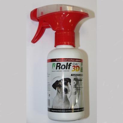 Rolf Club (Рольф Клуб) 3D Антипаразитарный спрей для собак