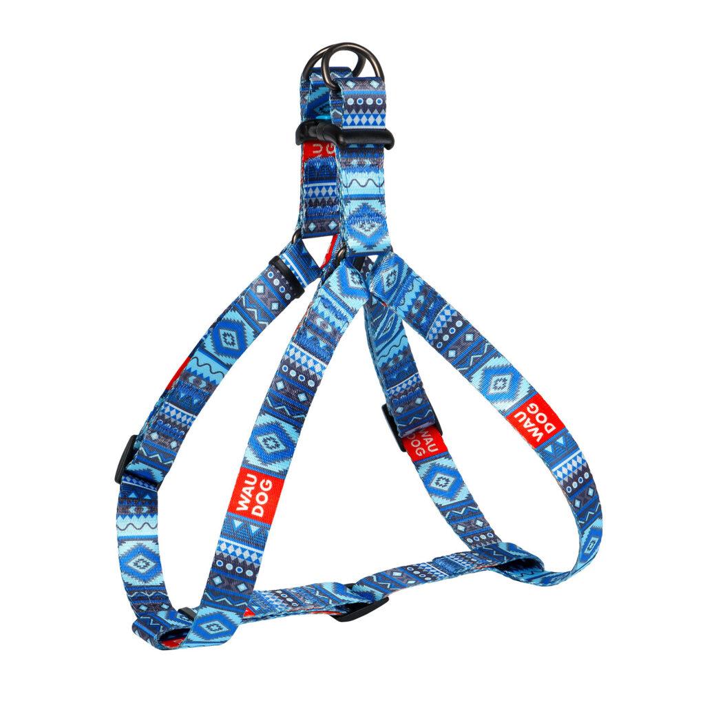 """Нейлоновые шлейки Waudog Nylon с дизайном """"Этно"""", """"Витраж"""", """"Лето"""" для собак всех пород"""