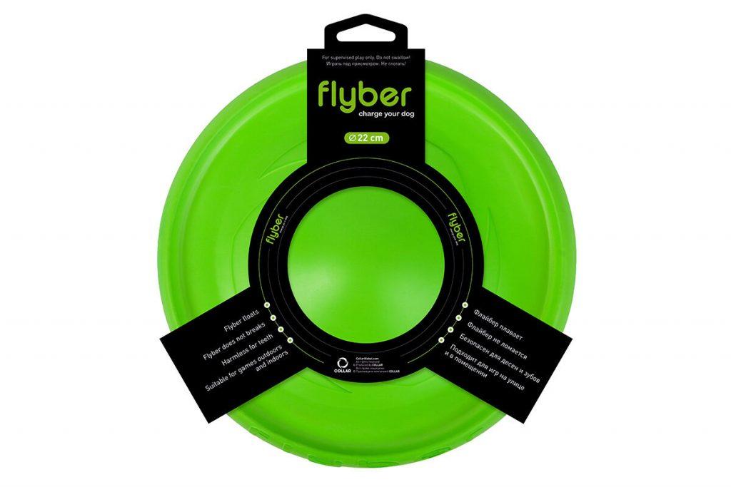 Flyber (Флайбер), двусторонняя летающая тарелка для собак