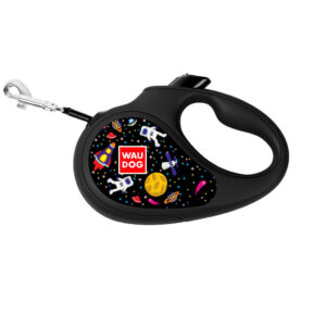 NASA WauDog Roulette Leash, повідок-рулетка для собак з малюнком НАСА