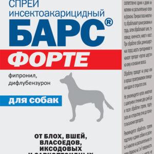 БАРС® ФОРТЕ, инсектоакарицидный спрей для собак 100 мл