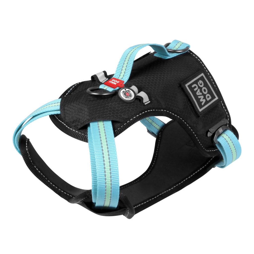 """""""Safe Harness WauDog"""" – нейлоновая шлея безопасная, светится в темноте!!!"""