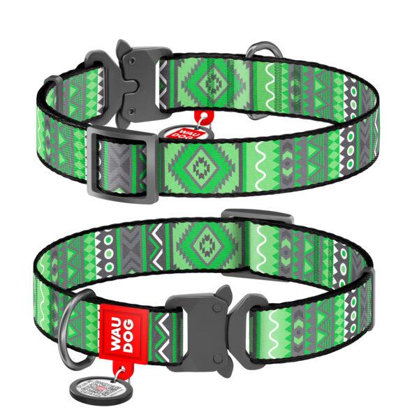 Collar Lock этно зелёный