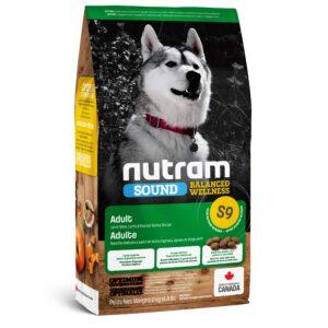 """""""NUTRAM (Нутрам) S9 Sound Balanced Wellness"""" c ягненком для взрослых собак"""