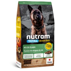 T26_NUTRAM Total GF Lamb & Lentils Dog, холистик корм д/соб. БЕЗ ЗЛАКОВЫЙ, ягненок/бобовые