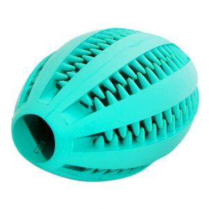 Масажний М'яч для зубів РЕГБИ TRIXIE (Трикси) Denta Fun Mintfresh