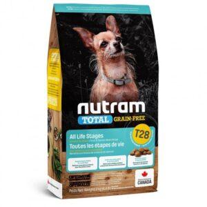 NUTRAM-T28 Total GF MINI Salmon & Trout холистик корм мелк/собак БЕЗ ЗЛАК, лосось/форель