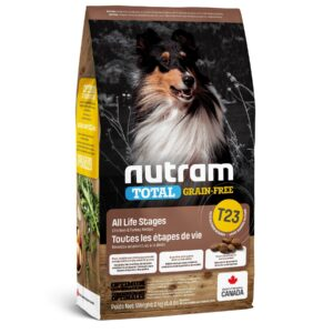 NUTRAM-T23 Total GF Turkey & Chiken, холистик корм БЕЗ ЗЛАКОВЫЙ, индейка/курица
