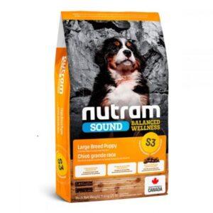 Nutram (Нутрам) S3 Sound Balanced Wellness Puppy холистик корм д/щенков бол. пород